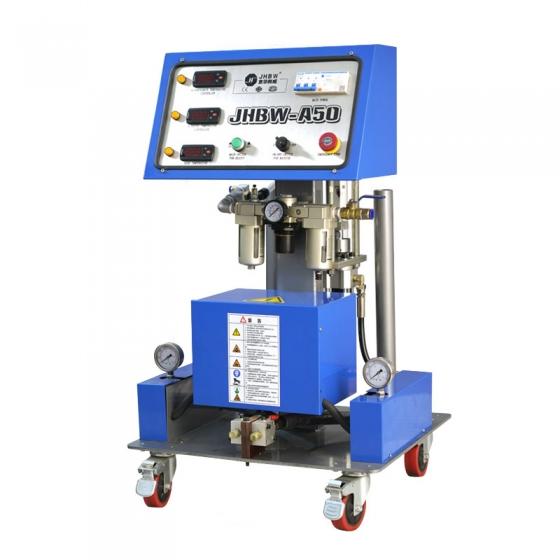 采用聚氨酯发泡机预制成模包装方式解析
