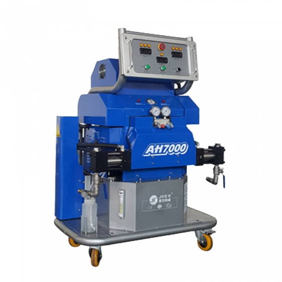 喷聚脲的机器叫什么怎么使用?工作原理是什么?有什么优势?
